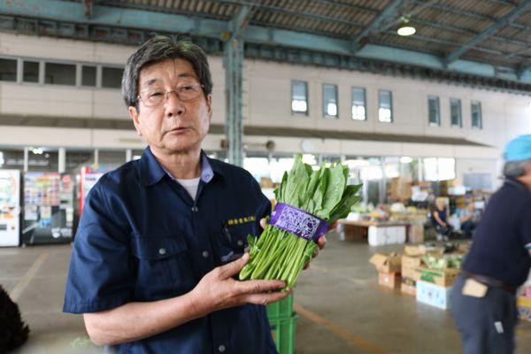 また、鎌倉青果市場では、扱う野菜の中でも厳しい基準をクリアした高品質なものを『鎌倉いちばブランド』として認定し、『鎌倉いちば野菜』としてブランド化する取り組みを進めています。