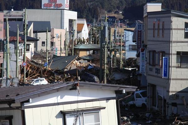 東日本大震災の打撃