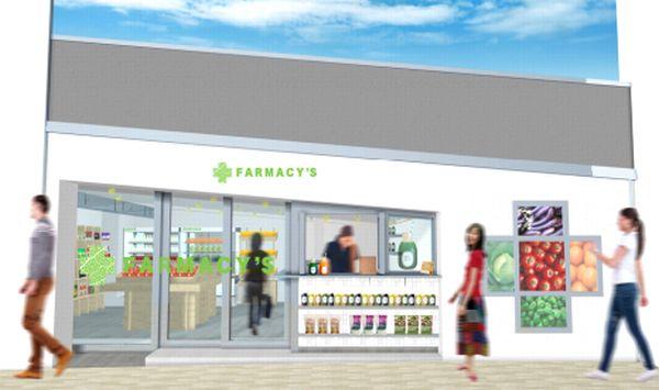 日本薬科大学と共同で、野菜と漢方で作った天然サプリメントを販売するコンセプトショップ「Farmacy's」を、2017年7月、銀座1丁目にオープン。「野菜+漢方」をコンセプトに、日本薬科大学の医学・薬学のリソースを活用して、天然サプリメントとドリンクを開発し、販売しています。