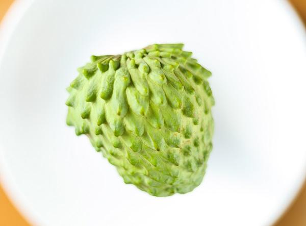 アテモヤは見かけないフルーツのため、ハッシュタグで検索されることが多いそう