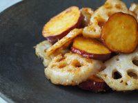 お弁当におすすめレシピ!土もの野菜で温まろう『根菜のしょうがあん炒め』