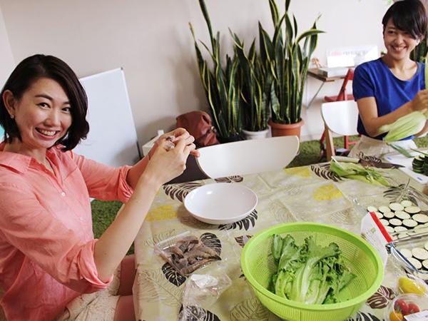 大人女子が集う料理会 高島優季さんの仕事とライフスタイル