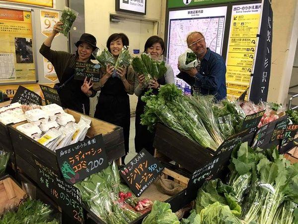 川崎の農業がアツい!「武蔵小杉駅マルシェ」で広がる川崎野菜の輪