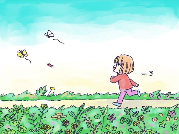 漫画「農家に憧れなかった農家の娘」第4話 春の不思議体験