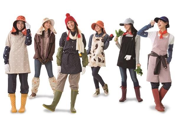 機能的でカワイイ!農業女子も注目「2017秋冬のおすすめウェア」