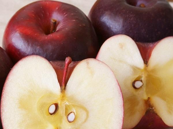 蜜があるリンゴは甘い?リンゴの蜜について