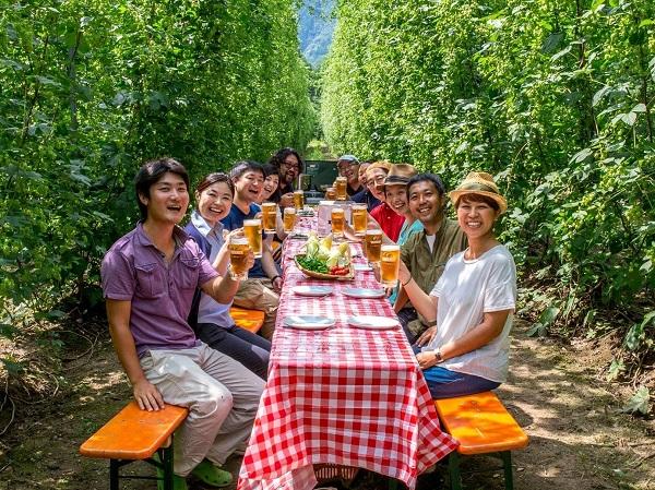 「ホップの里」から「ビールの里」へ―岩手・遠野でホップ農家を募集