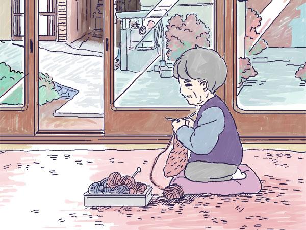 漫画「農家に憧れなかった農家の娘」第14話 ツンデレなひいばあちゃんとの関係