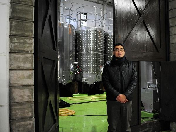 ココ・ファーム・ワイナリー醸造部長