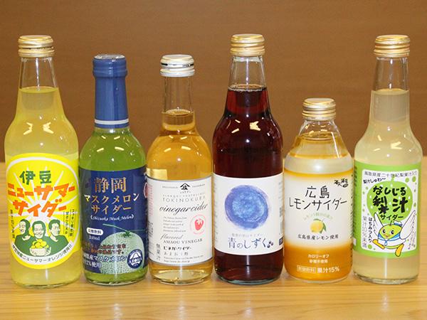 地域の特産品を使用した「ご当地サイダー」6種を飲み比べてみた