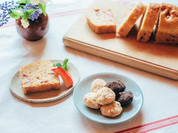 自家製米粉の作り方&米粉スイーツレシピ【パウンドケーキ・ちんすこう】
