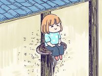 漫画「農家に憧れなかった農家の娘」第20話 座ってみたい、さるのこしかけ