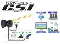 かん水資材の提供で定評のあるサンホープからクラウド型かん水コントローラー『G.S.I(ジー・エス・アイ)』が新登場!