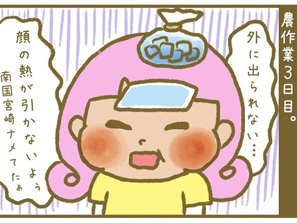 漫画「宮崎に移住した農家の嫁日記」【第22話】恐ろしい?南国の農作業