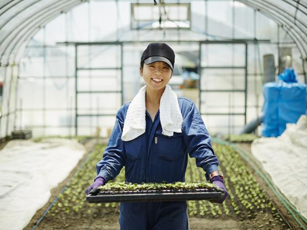 建設だけでなく、農業にも新しい風を。持続可能な農業の環境づくり。~エスアールジータカミヤ株式会社~