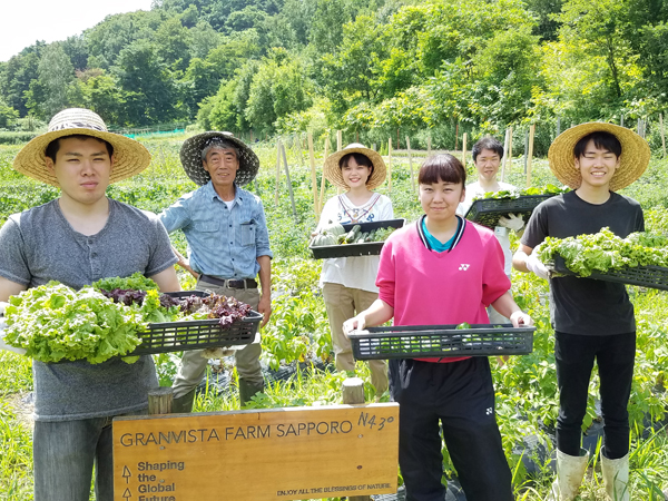 地域の未来のために。自然栽培の自社農園(ファーム)を活用するホテル