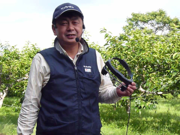 IoTを駆使した柿栽培への挑戦【富有柿農家のスマートグラス活用日記】