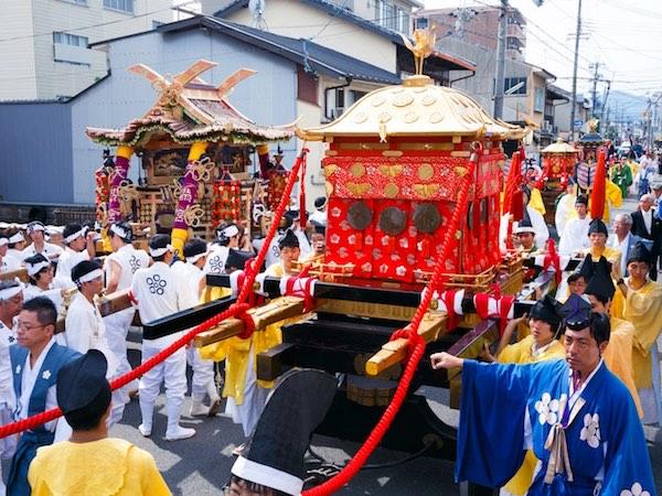 農にまつわる日本のお祭り 〜近畿、中国3選〜
