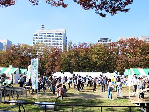 都会の真ん中で定着する農業イベント『第9回ファーマーズ&キッズフェスタ2018』