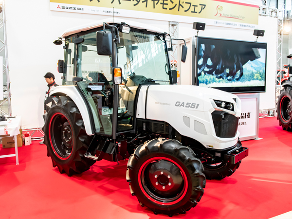 乗って・触って・体感できる―『三菱農業機械・スーパーダイヤモンドフェア』に行ってみた!