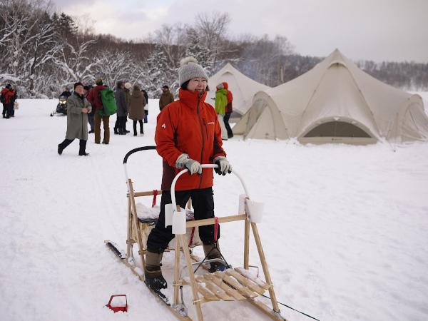 雪景色を活かす真冬のアウトドアを提案 北海道・上川町、地域の魅力をめぐるツアー