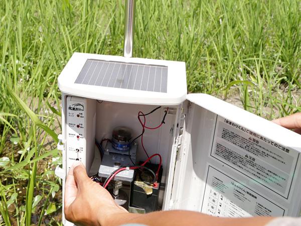 水田管理に救世主となるICT資材が登場! リース制度でさらに導入しやすく