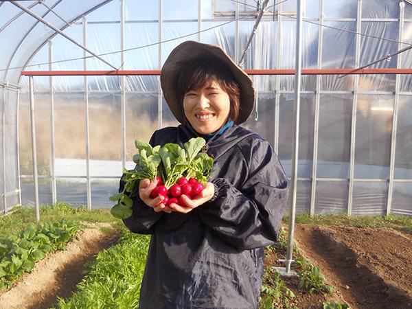 【農業女子PJ特集】第18回:20kgダイエットで食に目覚め 食の大切さを伝える農業女子