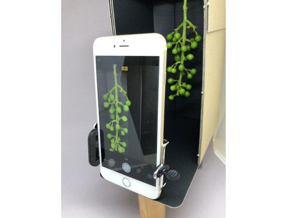 アプリと撮影ボックス