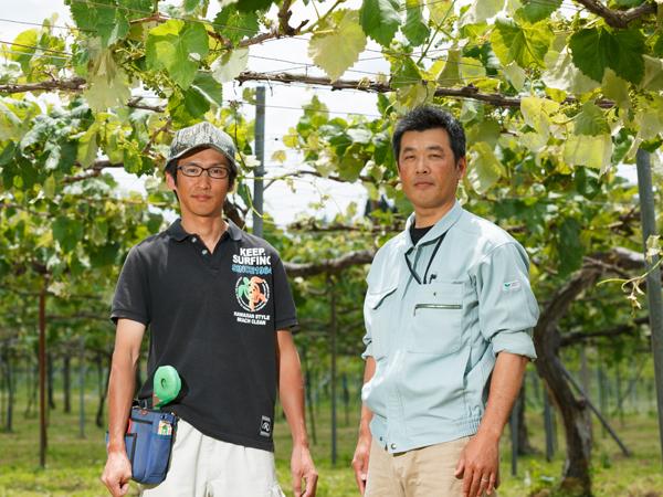 戸田さんと杉原さん