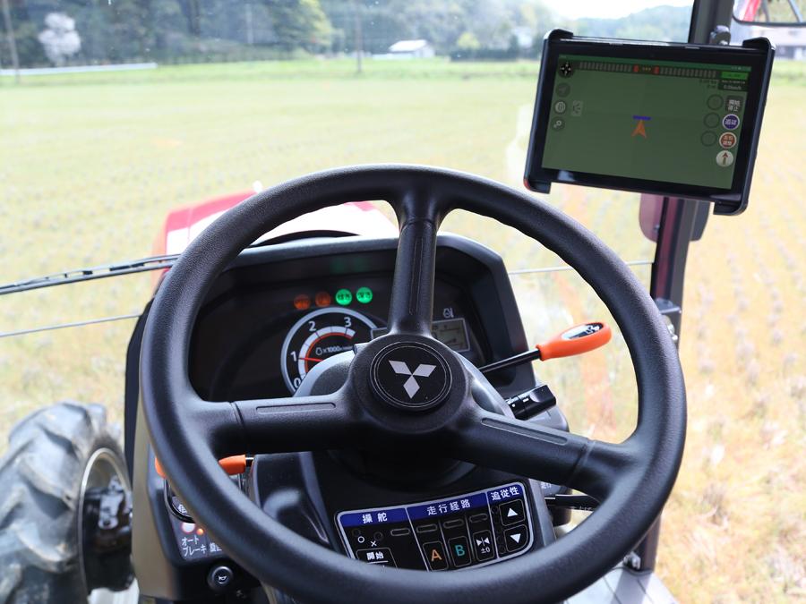 三菱マヒンドラ農機株式会社が、低コストで導入できるアドオン型の自動操舵システム『SE-Navi』を発表