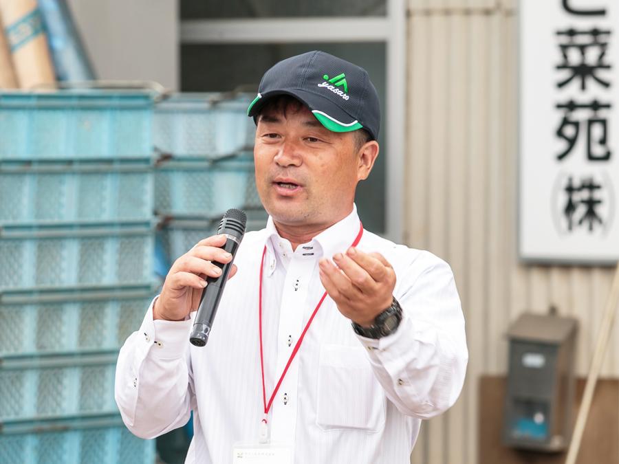 やさと菜苑株式会社 代表取締役 高橋大さん