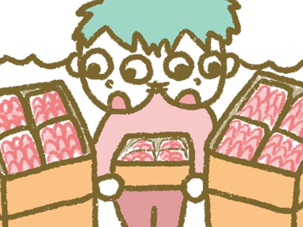 漫画「宮崎に移住した農家の嫁日記」【第71話】市場に初出荷