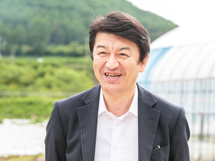 昭光通商アグリ 取締役 長谷川惠章さん