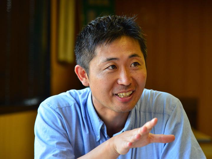 井関農機株式会社 販売企画推進部の野口貴弘さん