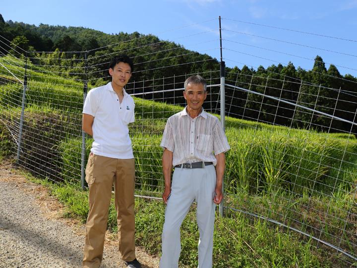 イノシシ・シカ・サルの脅威をシャットアウト! 山間部の農家が威力を実感した獣害防止ネットシステム