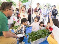 1000人の都会の子供に植物に触れるリアルな経験を