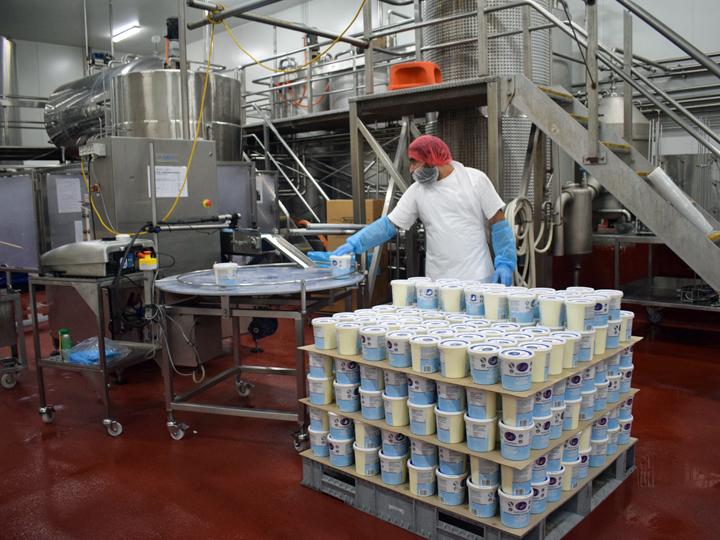 ブリスベンにある、オーガニック乳製品を生産・加工・販売する「Barambah Organics」