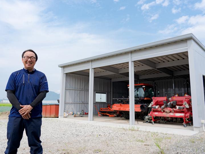 農業機械用倉庫は「コスト」と「工期」をかけない時代に