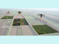 ドローンで上空から圃場をモニタリング 生育状況、病害虫の発生を把握