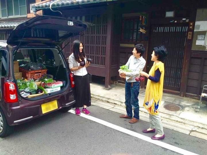 京大卒・非農家の女性が「振り売り」事業 京野菜を伝えるワケとは