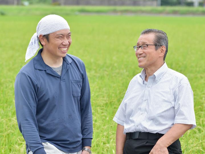 遠井農園 遠井尚徳さん 株式会社ピープル 大川和光さん