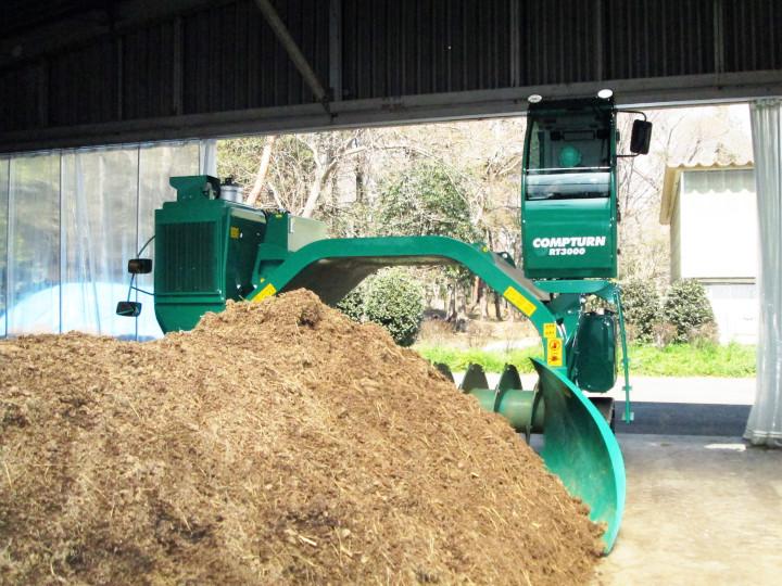「とうきょう元気堆肥」で環境に優しい農業を。東京都有機農業堆肥センター