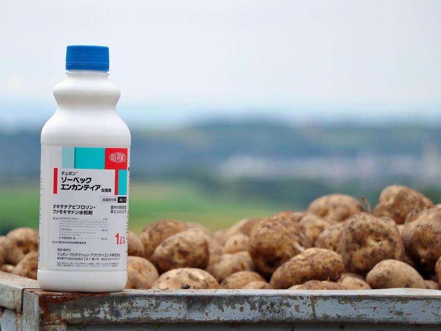 疫病のリスクから北海道のばれいしょを守る新アイテムが登場