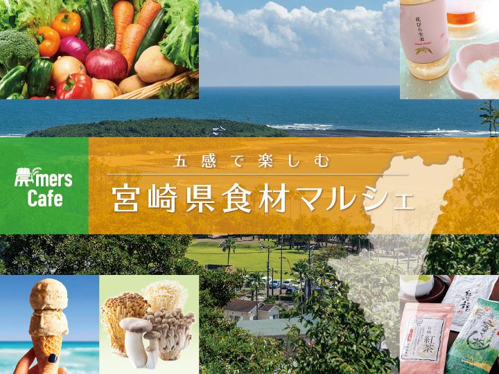 ◆入退場自由◆11/23(土・祝)【五感で楽しむ宮崎県食材マルシェ開催】人形町@農mers Cafeにて