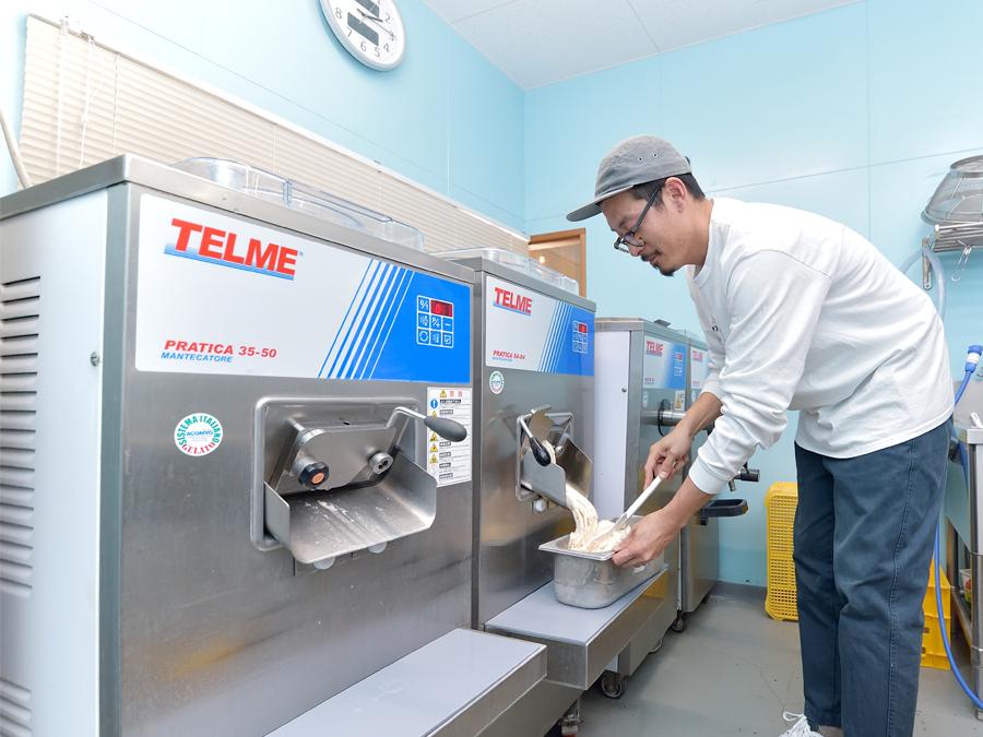 6次産業を成功させる!? 株式会社UNOのイタリア製ジェラートマシンを選ぶ理由とは?