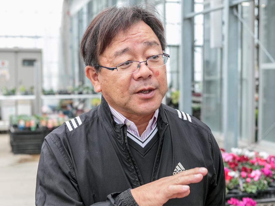 『パンジーハウス』代表の成澤彬暢さん