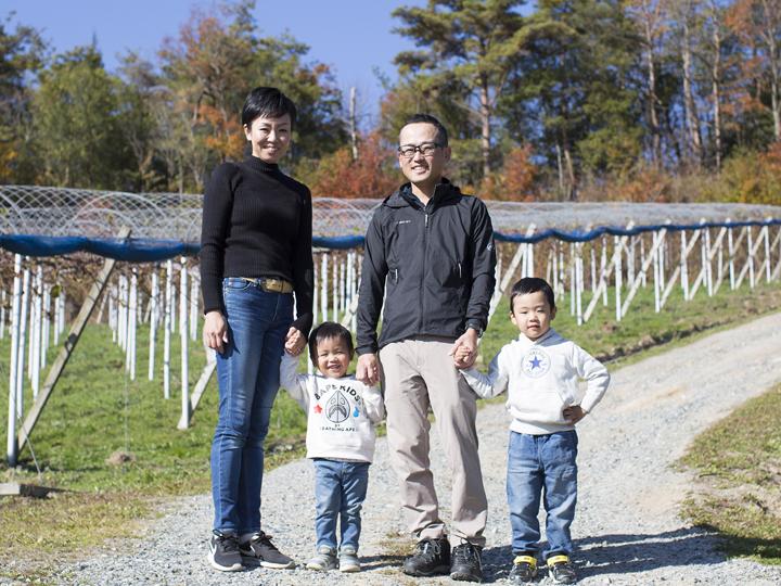【岡山県⑥】「晴れの国おかやま」で家族といっしょにピオーネ農家になろう ―北海道から移住・就農した家族の物語―