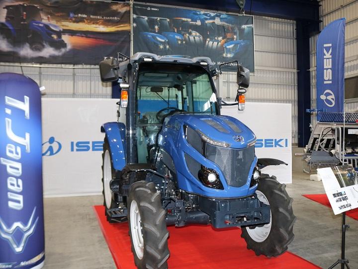 井関農機 欧州、タイ、韓国向けの新モデルを発表