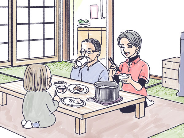 【漫画】黄金の畑がまぶしい! 米農家さんのお宅を訪問