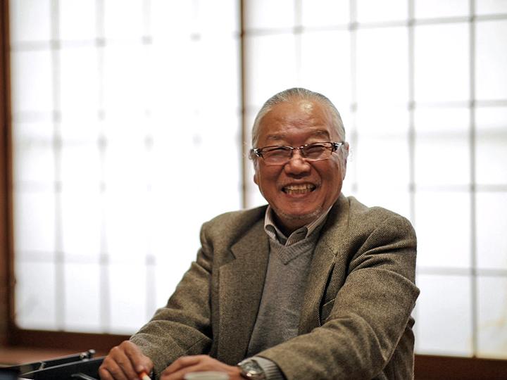 かすみ草農家の第一人者『JA会津よつば』かすみ草部会長の立川幸一さん